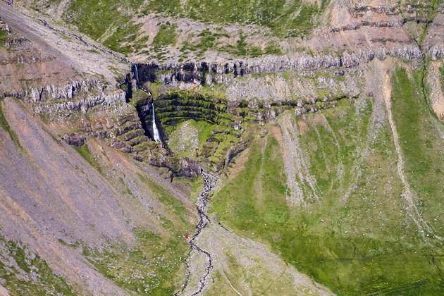 Small Waterfall Iceland
