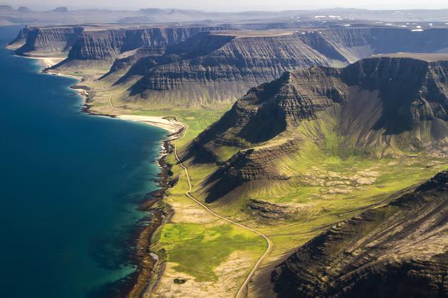 Iceland Plateau Mountains
