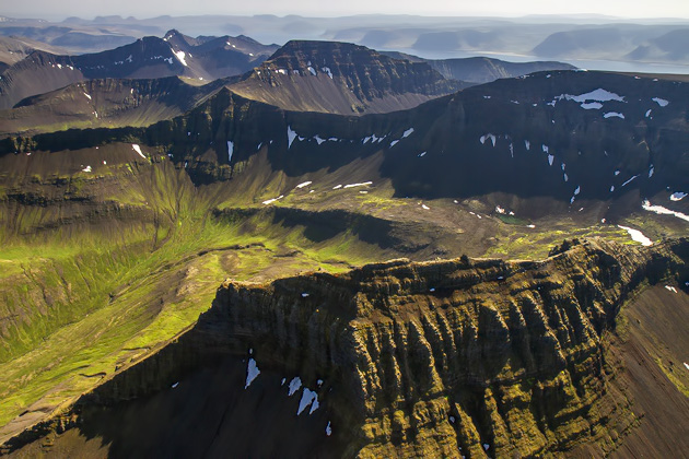 Aerial Views Iceland
