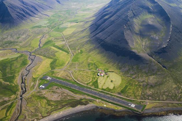 Landing Strip Iceland