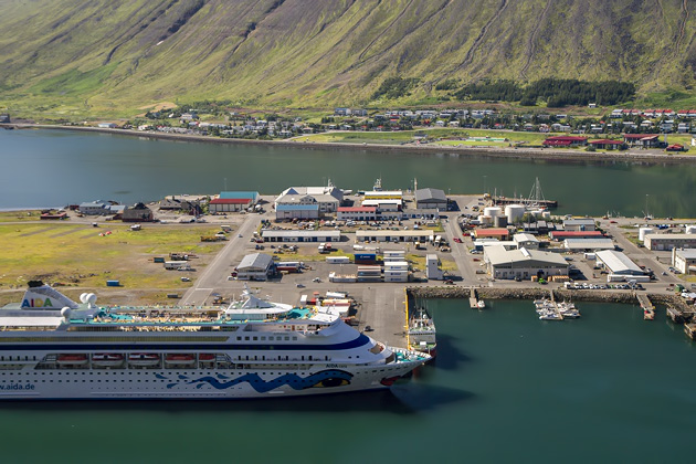 Aida in Ísafjörður