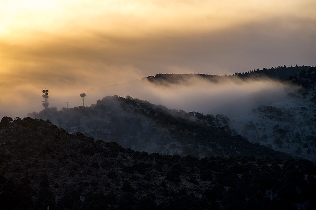 Frosty Morning Idaho