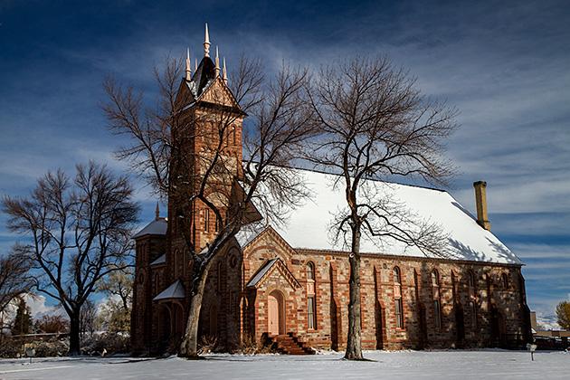 Paris-Idaho-Church
