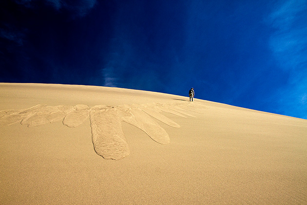 Sand Landslide