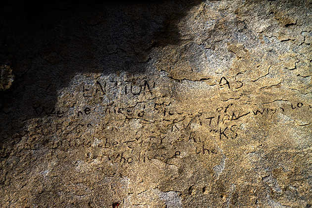 Cave-Writing-City-Of-Rock