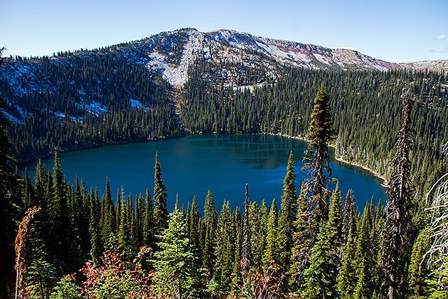 Hidden Lake Idaho