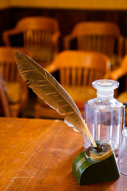 Old-Writing-Feather