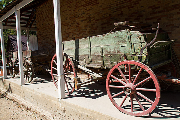 Wild Wild West Wagon