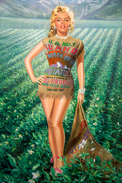 MarilynMonroe-Potato-Idaho