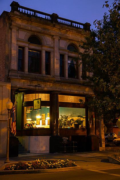 Spooky Building Lewiston