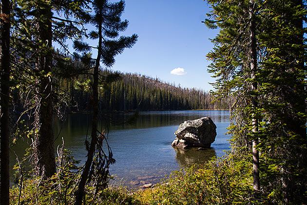 Rainbow-lake-Idaho