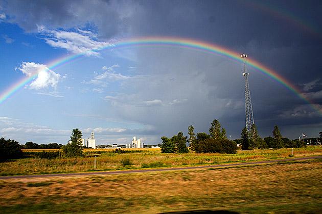 Double Rainbow All The Way Across The Sky