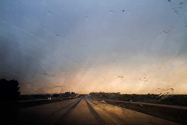 Rain in Idaho