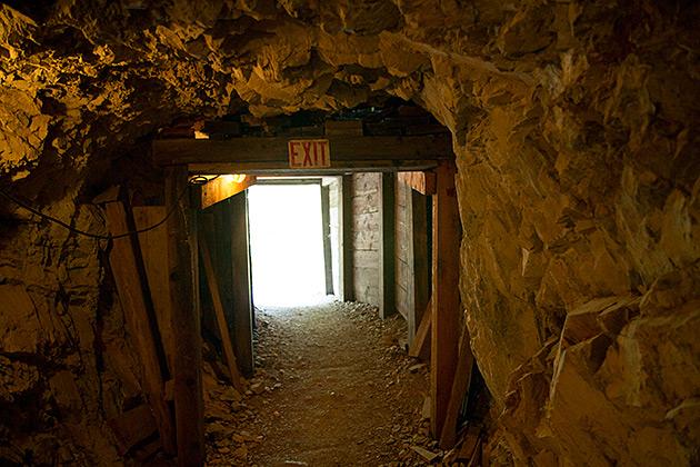 Mining Exit