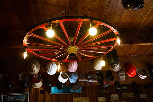Big Wheel Lamp