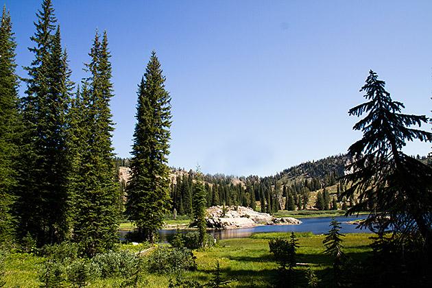 Blue Lake Idaho