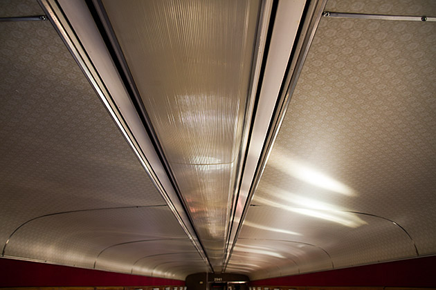 Train Ceiling