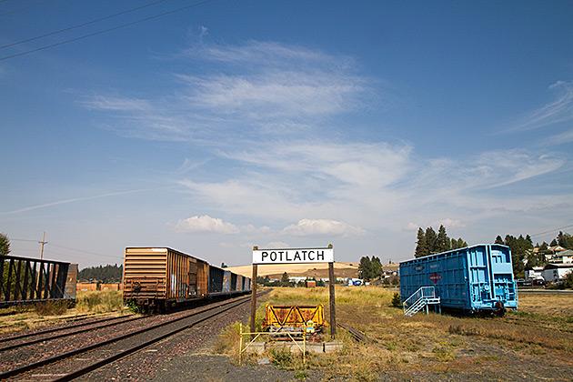 Potlatch-Idaho