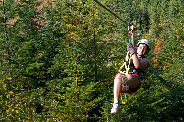 Zip-Lining-In-Idaho