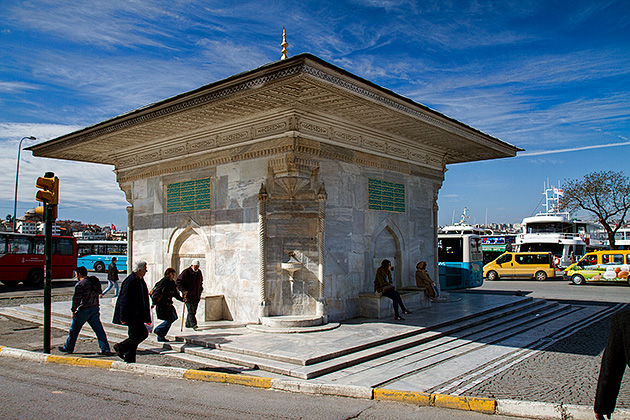 /Mosque-Fountain-Istanbul