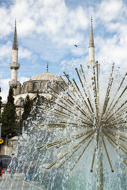 Mosque-Fountain