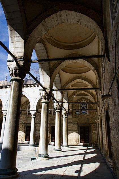 Mosque-Column-Uskudar