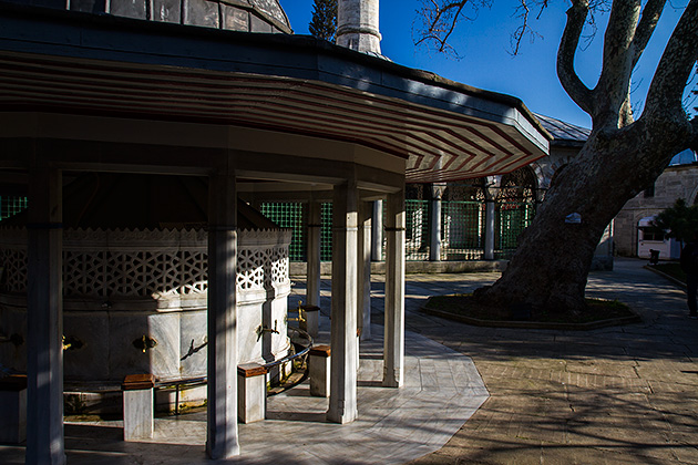 Mosque-Courtyard