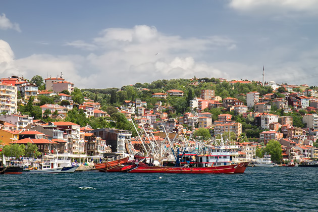 Fisher Boats Of Istanbul