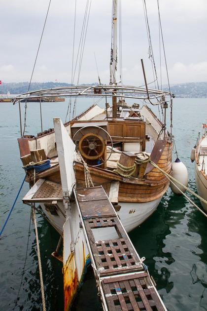 Sailing Boat Istanbul