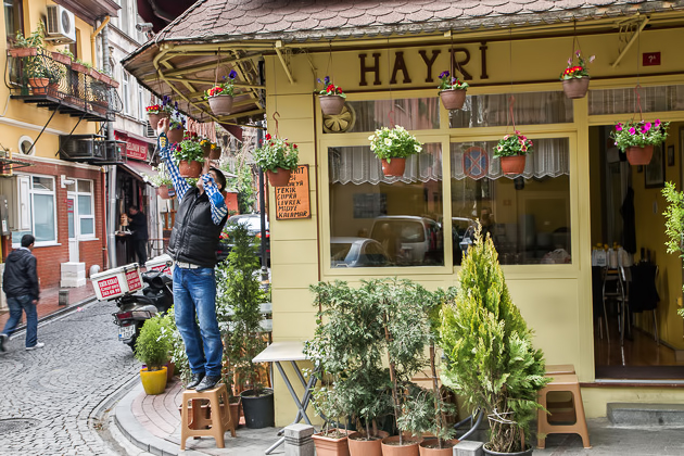 Cute Neighborhood Istanbul