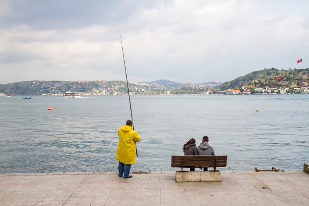 Fishing Bosphorus
