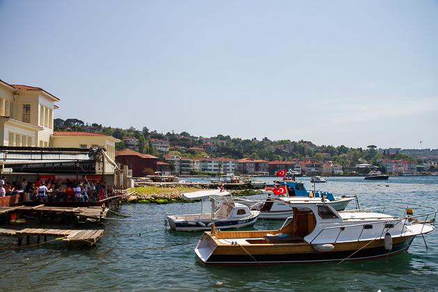 Çengelköy Boats