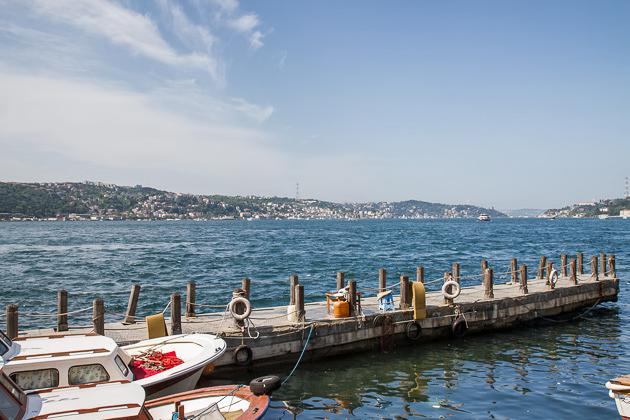 Beylerbeyi Pier