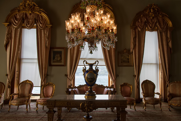 Beylerbeyi Palace Inside