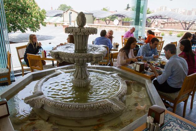 Bursa Han Fountain