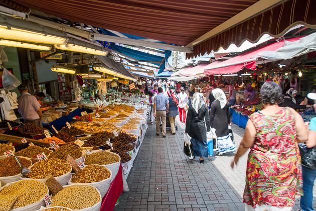 Bursa Market Streets