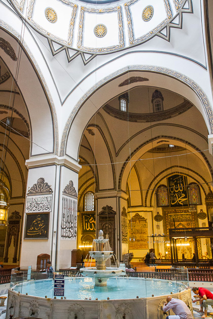 Fountain Inside Mosque Bursa
