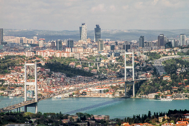 Bosphors Bridge Istanbul