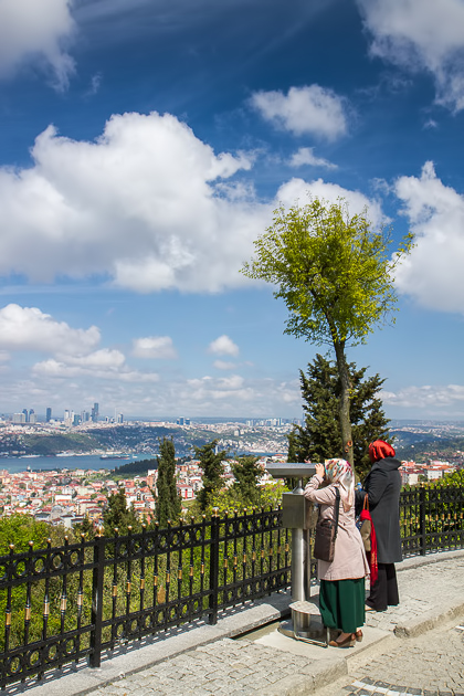 Looking Over Istanbul