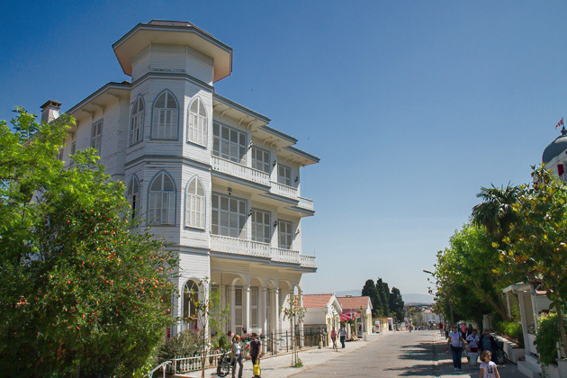 Old Ottoman Houses Büyükada