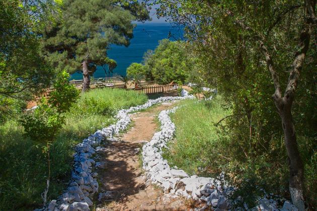 Büyükada Beach Path