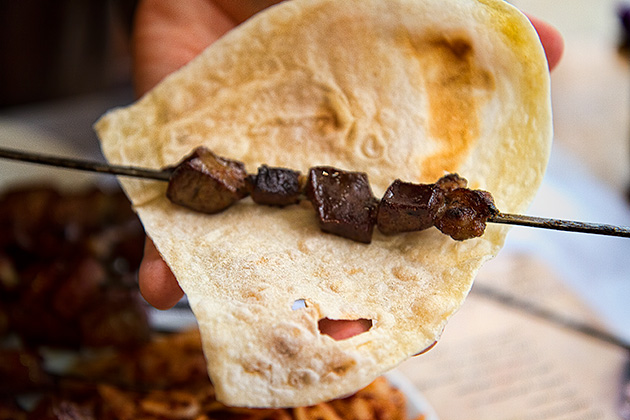 Liver-Shish-Kebab
