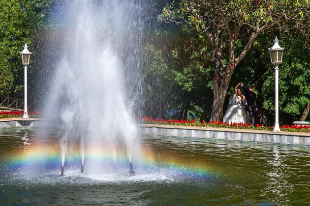 Rainbow Wedding Photographer