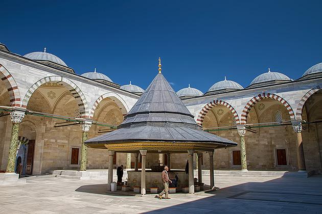 Fatih-Courtyard