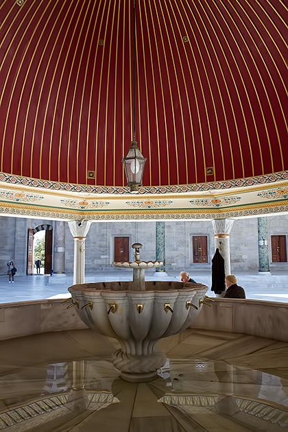 Fatih-Moschee-Brunnen