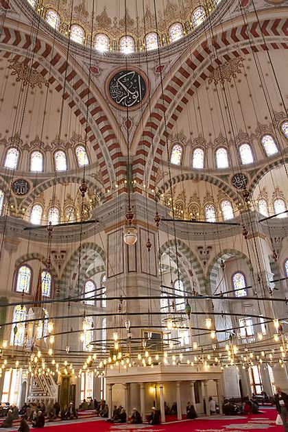 Praying-Inside-Camii-Mosque
