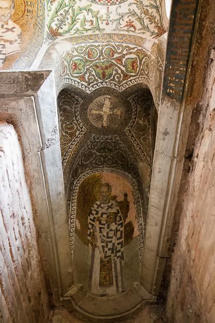 Istanbul Churches Jesus Mosaic