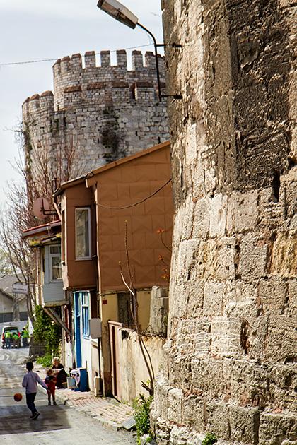 Istanbul-Landwalls