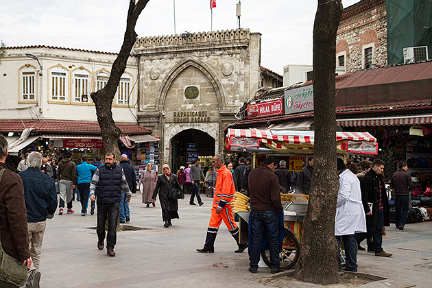 Infront-Of-the-Grand-Bazaar-Istanbul