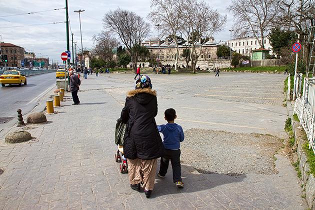 Taking-a-walk-in-Istanbul